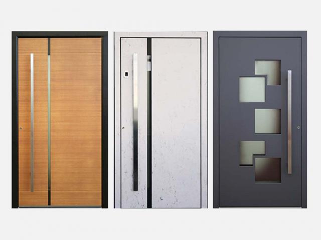 Beispiele für Haustüren