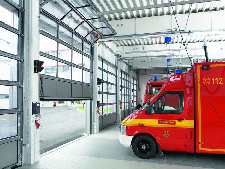Industrietore für Feuerwehren